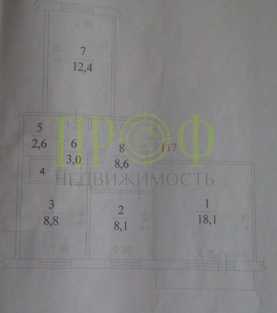 Продам 3-комн. квартиру по адресу Россия, Кемеровская область, Кемерово, ул. Свободы,13 фото 13 по выгодной цене