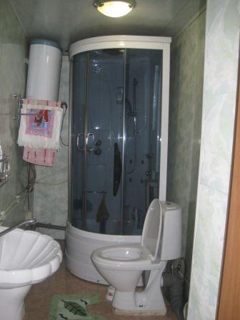 Туалет и душевая в частном доме