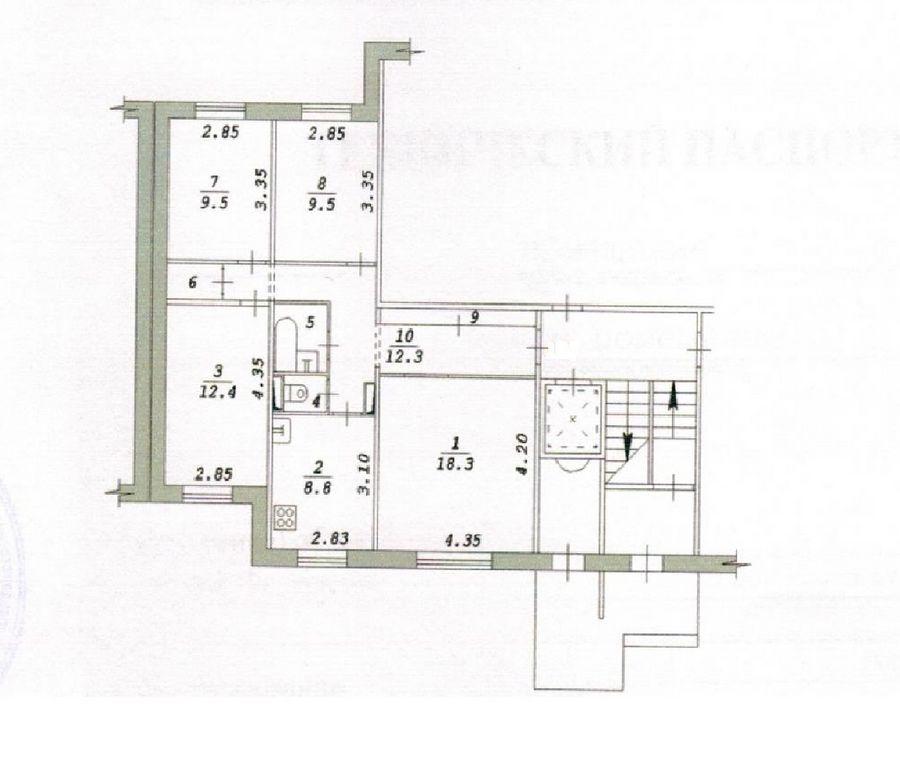 Высоцкого, 41, 4-к квартира