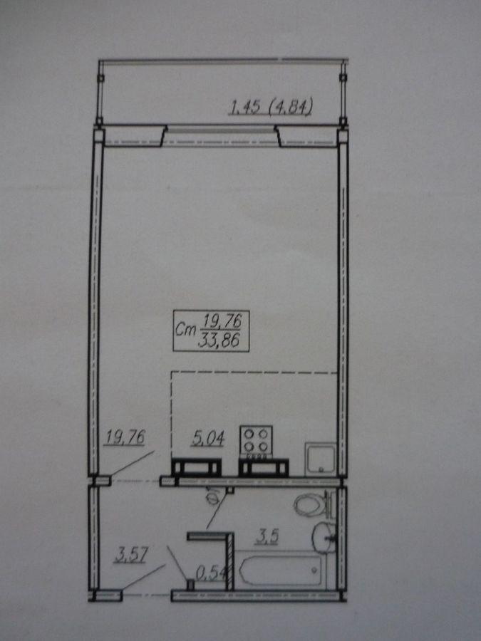 Бронная, 32, 1-к квартира