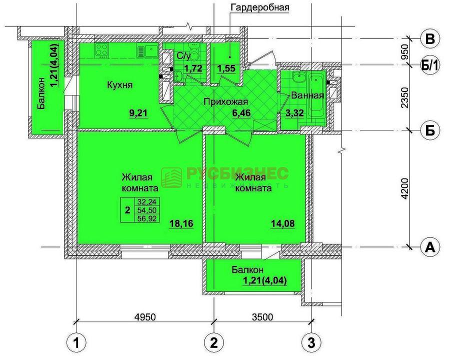 Продам 2-комн. квартиру по адресу Россия, Новосибирская область, Новосибирск, ул. Королева,3 фото 1 по выгодной цене
