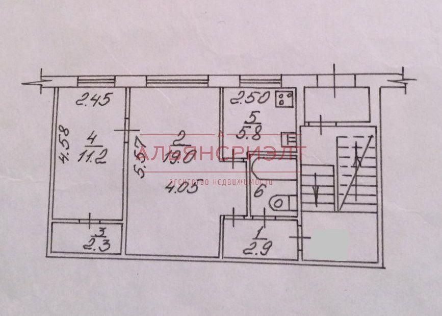Продам 2-комн. квартиру по адресу Россия, Новосибирская область, Новосибирск, ул. Новогодняя,38 фото 6 по выгодной цене