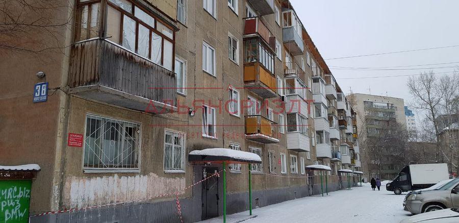 Продам 2-комн. квартиру по адресу Россия, Новосибирская область, Новосибирск, ул. Новогодняя,38 фото 11 по выгодной цене