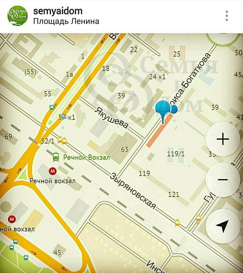 Продам 1-комн. квартиру по адресу Россия, Новосибирская область, Новосибирск, ул. Бориса Богаткова,24 фото 3 по выгодной цене