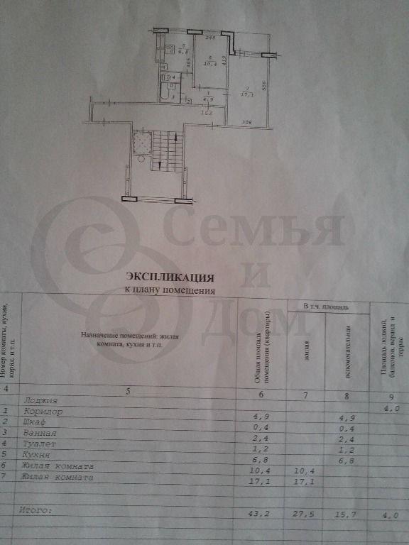 Продам 2-комн. квартиру по адресу Россия, Новосибирская область, Новосибирск, ул. Толстого,234 фото 6 по выгодной цене
