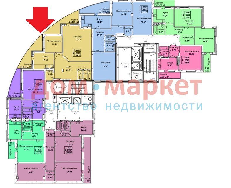 Продам 2-комн. квартиру по адресу Россия, Новосибирская область, Новосибирск, ул. Тихвинская,1а фото 0 по выгодной цене