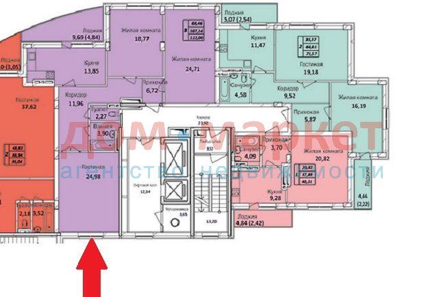 Продам 3-комн. квартиру по адресу Россия, Новосибирская область, Новосибирск, ул. Тихвинская,1а фото 0 по выгодной цене