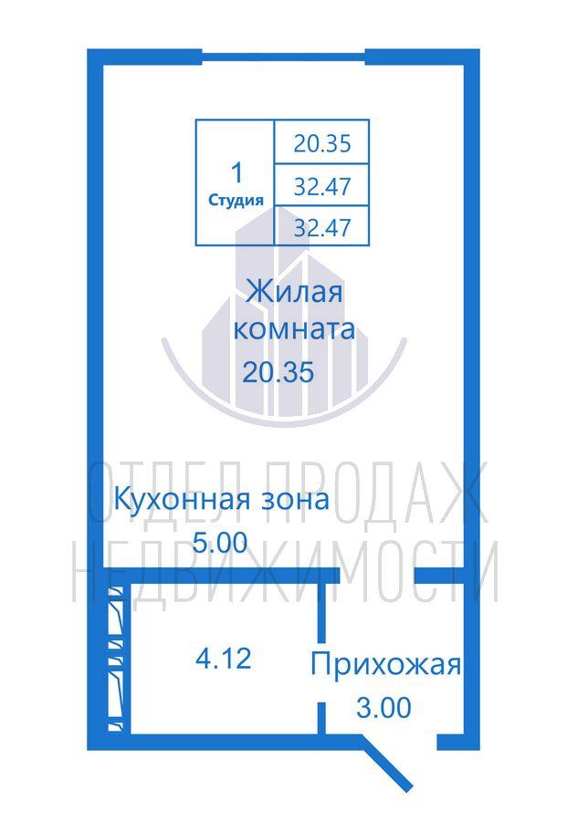 Продам студию по адресу Россия, Новосибирская область, Новосибирск, ул. Высоцкого,171 фото 0 по выгодной цене