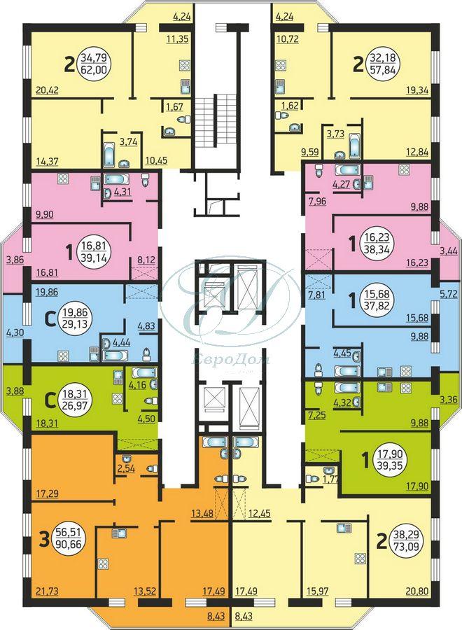 Продам 1-комн. квартиру по адресу Россия, Новосибирская область, Новосибирск, ул. Фрунзе,20 фото 4 по выгодной цене