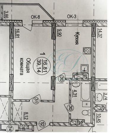 Продам 1-комн. квартиру по адресу Россия, Новосибирская область, Новосибирск, ул. Фрунзе,20 фото 5 по выгодной цене