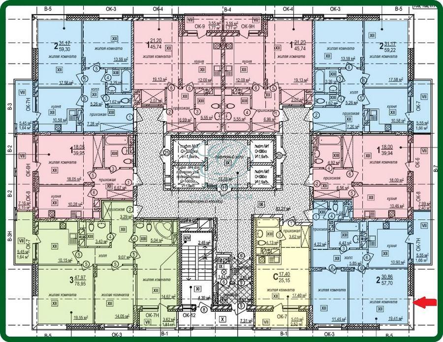 Продам 2-комн. квартиру по адресу Россия, Новосибирская область, Новосибирск, ул. Богдана Хмельницкого,21 фото 6 по выгодной цене