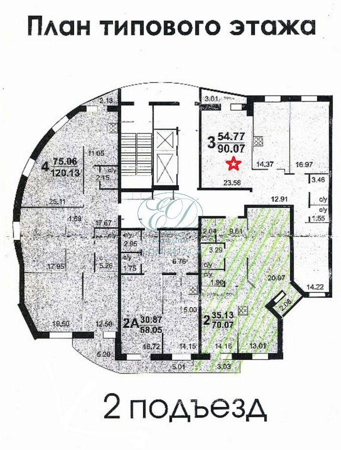 Продам 3-комн. квартиру по адресу Россия, Новосибирская область, Новосибирск, ул. Галущака,15 фото 5 по выгодной цене