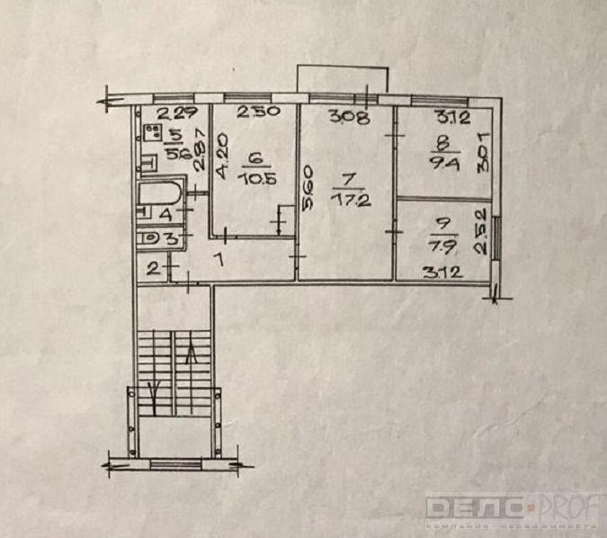 Продам 3-комн. квартиру по адресу Россия, Новосибирская область, Новосибирск, ул. Адриена Лежена,6/2 фото 7 по выгодной цене