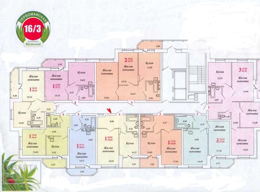 Продам 1-комн. квартиру по адресу Россия, Новосибирская область, Новосибирск, ул. Заречная,7 фото 0 по выгодной цене