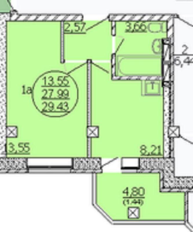 Продам 1-комн. квартиру по адресу Россия, Новосибирская область, Новосибирск, мкр. Закаменский,7 стр фото 0 по выгодной цене