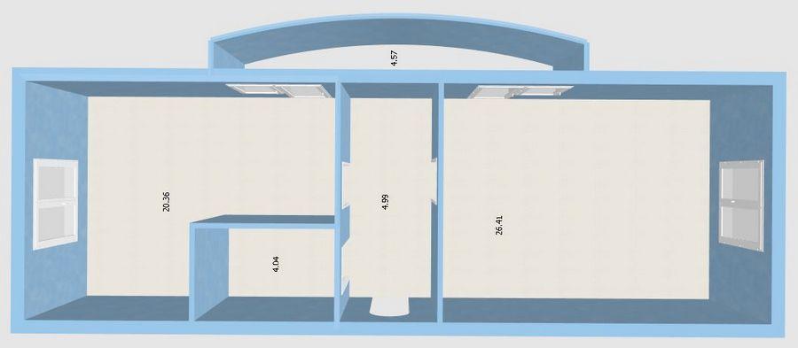 Продам студию по адресу Россия, Новосибирская область, Новосибирск, мкр. Закаменский,7 стр фото 4 по выгодной цене